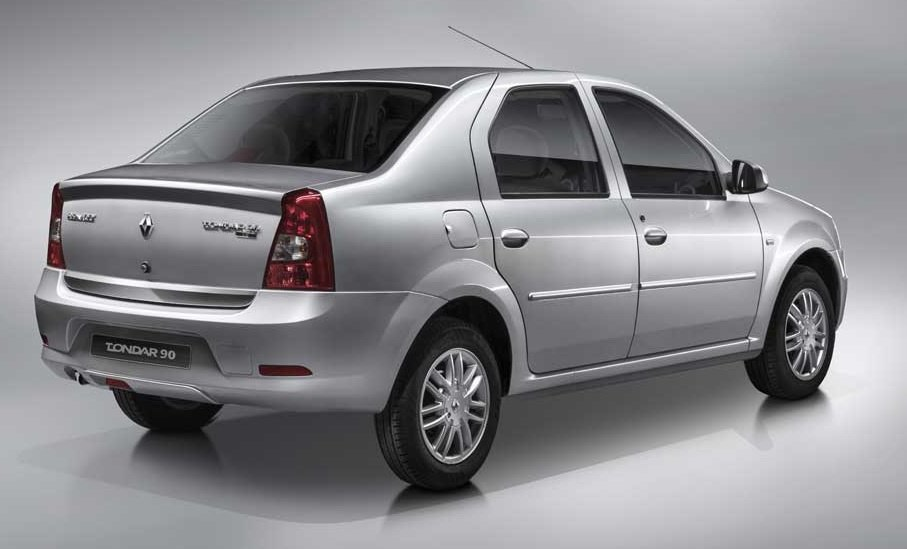 l90 plus 1 - Review of one of the good cars for renting in IRAN, the Renault Thunder 90
