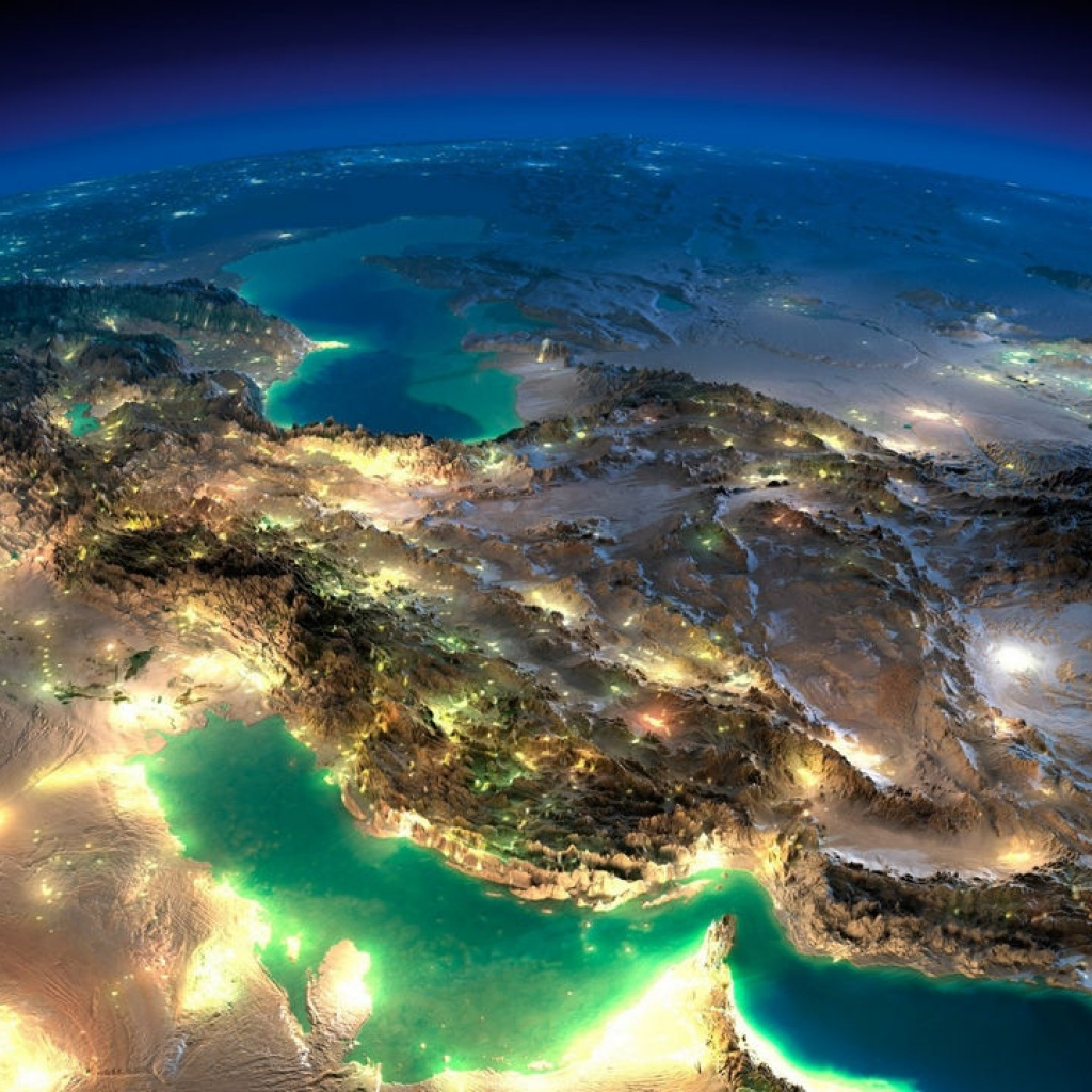 iranfromspace 4549683649 1024x1024 - Tourism and rent car in iran (part2)